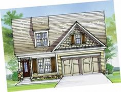 New floor plans are coming to The Village Center at Sterling on the Lake from Stonecrest Homes