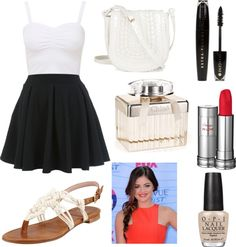 """""""BLACK AND WHITE FOREVER!"""" by directioner-123-123 ❤ liked on Polyvore"""