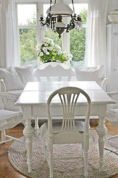 123 best cottage style ~ dining rooms images on Pinterest | Lunch ...