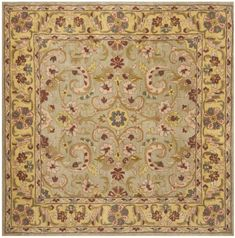Heritage HG924 Hand-Tufted Area Rug, Gold