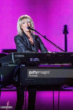 Christine McVie of Fleetwood Mac performs at the Tacoma Dome on November 20, 2014 in Tacoma, Washington.