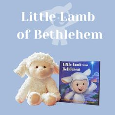 Bring new traditions into your home that are centered on the birth of the Savior this Christmas. Lds Books, Bethlehem, Savior, Christmas Fun, Lamb, Birth, Teddy Bear, Music, Musica