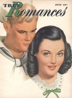 True Romances July 1945