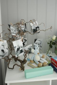 Trollhassel gren for å henge bilder på📸🖼 Boy Baptism, Christening, Baby Event, Lets Celebrate, Baby Boy Shower, Kids And Parenting, Baby Love, Christmas Diy, Diy And Crafts