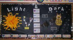 Light and Dark Display classroom display photo - Photo gallery - SparkleBox