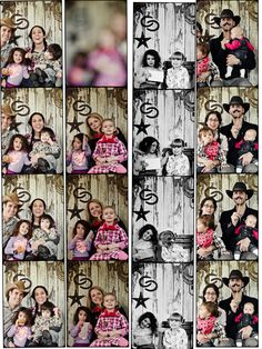 cowboy party: photo booth