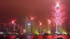 New Year's; Hong Kong style.