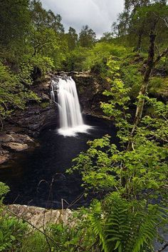 Falls of Falloch, Loch Lomond, Trossachs