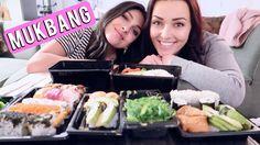 Sushi Mukbang ❤ met Anna Nooshin   Beautygloss