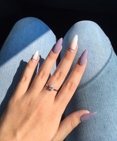Want some ideas for wedding nail polish designs? This article is a collection of our favorite nail polish designs for your special day. Read for inspiration Purple Nails, Matte Nails, Glitter Nails, Neon Nails, Ongles Gel Violet, Nail Stiletto, Pointy Nails, Coffin Nails, Cute Nail Colors
