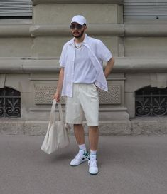Classy Outfits, Boy Outfits, Monochrom, Men Looks, Street Wear, Normcore, Mens Fashion, Shorts, Guys