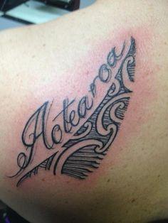 New Zealand tattoo