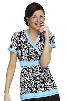 Cute but I don't know where fashion fits into scrubs in the workplace