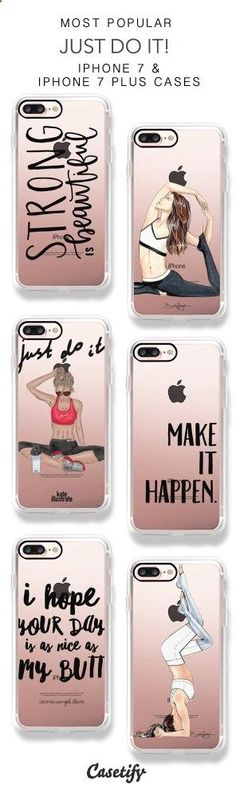 Phone Cases - Most Popular Work Out iPhone 7 Cases & iPhone 7 Plus Cases here > www.casetify.com/...