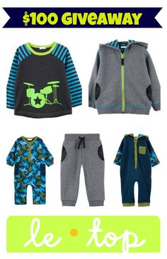 Le Top Children's Clothing #giveaway