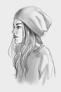 The lesbian girl Walter is crushing on. Her name is Isabel Drawing Faces, Best Drawing, Drawing With Pencil, Pencil Drawings Of Girls, Outfit Drawings, Sketches Of Girls Faces, Pencil Art, Mario Vargas, Tumblr Girl Drawing