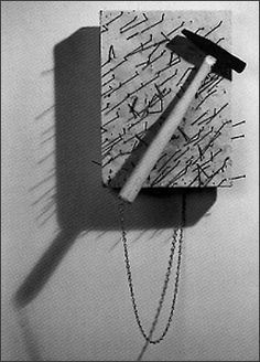 """Yoko Ono, """"Hammer & Nail"""""""