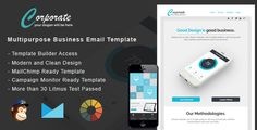 Corporate - Responsive Email   StampReady Builder by GreenFin Files Included StampReady Template Builder Access1Mailchimp Compatible File 1CampaignMonitorCompatible File1 HTML Compatible File 1 PSD Layered FileFull Documentation HTML pageFeatures Responsive Layout Litmus Test PassedUnlimited