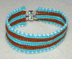Free Beading Project: Banded Flat Herringbone Bracelet Black Diamond Ring Jewelry Avenue + many more.