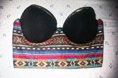 DIY bra bustier tutorial by The Real Koko Chanel