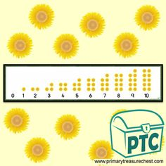 Flower Themed Primary Resources for the Classroom - Primary Treasure Chest Number Activities, Teaching Activities, Sensory Activities, Teaching Math, Teaching Ideas, Numicon, Maths Area, Teaching Programs, Display Banners