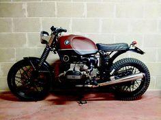 Bmw Brat Style Boxer by Dragoni Moto #bratstyle #motorcycles #motos | caferacerpasion.com