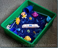 Ocean Sensory Bin maybe use with MFW K Octopus Unit