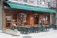 Bar Pitti NYC. Casual inexpensive Italian food. The restaurant is filled with New York's trendiest residents. Location: New York, New York. Price: Inexpensive (cash only)