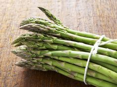 Asparagus Vinaigrette / recipe by Sarah Leah Chase