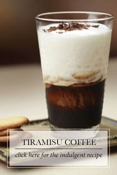 Tiramisu Coffee   Tiramisu means take me to heaven! And with all the flavor of every gourmet's favorite Italian dessert, this chocolaty espresso promises to be a sublime indulgence.