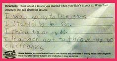 Kids homework answers