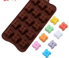 ALVA Chinese knot silicone chocolate molds Silicone Chocolate Moulds 5pcsno.CM99 *** Trust me, this is great! Click the image. : Candy Making Supplies
