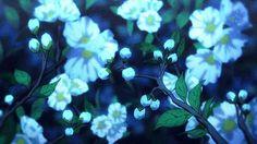 my gifs flowers scenery anime scenery Amagi amagi brilliant park amaburi Aesthetic Painting, Aesthetic Drawing, Aesthetic Gif, Blue Aesthetic, Aesthetic Wallpapers, Amagi Brilliant Park, Anime Gifs, Anime Art, Casa Anime