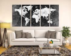 12911 large wall art world map canvas print custom world map push 12911 large wall art world map canvas print custom world map push pin wall art custom world map canvas poster print personalized wall art gumiabroncs Image collections