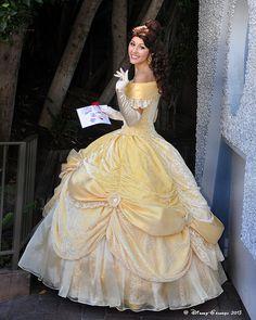 thatdisneyworldblog: Princess Belle_0373 by Disney-Grandpa on Flickr.