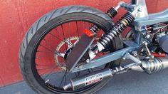 Light and fast 50cc air cooled Motobecane 50v custom moped. SOLD $5,000