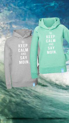MOIN Hoodies für Moin-Sager >>