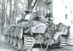 Befehlspanzerkampfwagen V Panther Ausf. G (Sd.Kfz. 268)