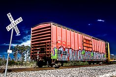 train graffiti #bucketlist