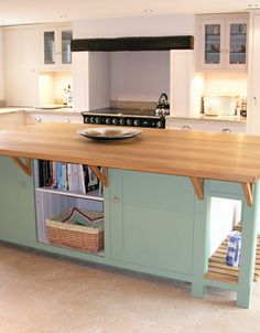How about this for a breakfast bar!  Individually designed and made by Luxmoore  Co.