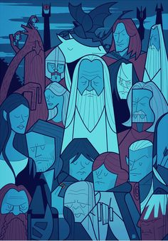 ale giorgini - lord of the rings