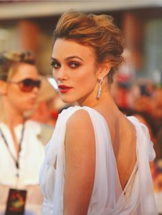 Kiera Knightly #TopshopPromQueen |Pinned from PinTo for iPad|