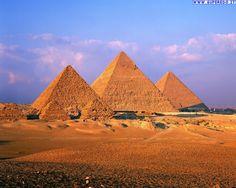 Grandi piramidi di Giza (Egitto)