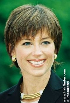 Hairstyle Layered Hair Styles For Short Hair Women Over 50   Short haircut from Dorothy Hamill