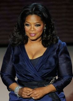 Oprah. tears would fall if I met her.