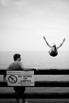 No diving  No jumping...
