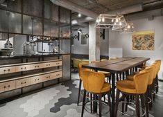 Kitchen+Bar 15 by PH.D architectural bureau, Moscow – Russia » Retail Design Blog