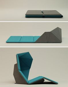 The best meditation chairs for a silent mind - RESMO Floor Mat 3 Folding Furniture, Origami Furniture, Multifunctional Furniture, Smart Furniture, Modular Furniture, Space Saving Furniture, Furniture Makeover, Girls Furniture, French Furniture