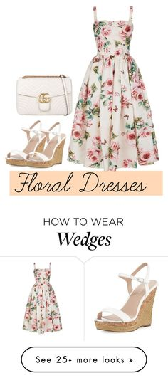 """""""Jump into spring"""" by kb1934733 on Polyvore featuring Dolce&Gabbana, Charles by Charles David and Gucci"""