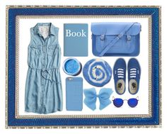 """""""Bluebell"""" by hatcherfogarty ❤ liked on Polyvore featuring Vans, The Cambridge Satchel Company, Ray-Ban, Marc by Marc Jacobs, Lime Crime, maurices and Haffke"""